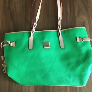 Dooney and Bourke Green Tote
